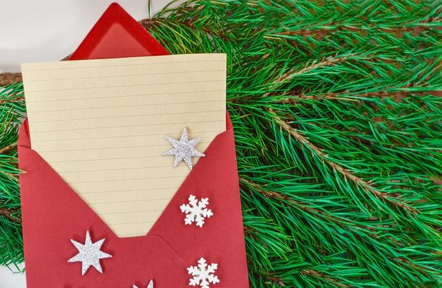Kyle sends a letter to Santa