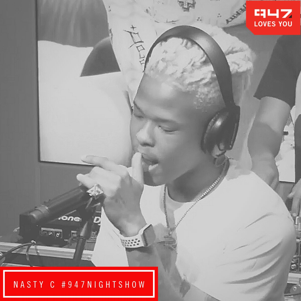 Zweli  Mantsoe interview Nasty C on the 947 Night Show