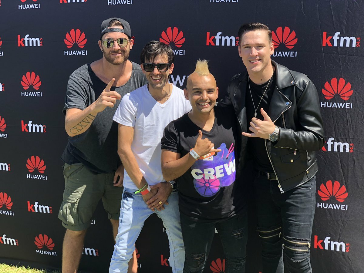 Pascal & Pearce along with Jethro Tait hint at new music on the #CokeTop40CT following Huawei KDay performance