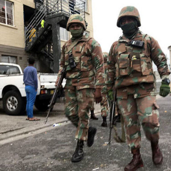 Barbs Wire - Troops finally roll into Manenberg and Hanover Park