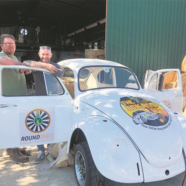 A VW Beetle's 14 500km journey to raise funds for child heart surgeries