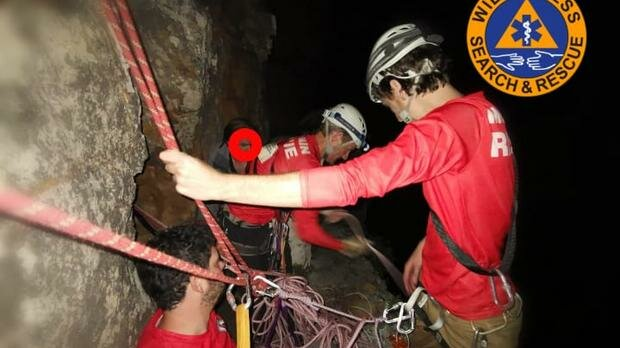 Tourist survives 20m rescued after fall on Table Mountain