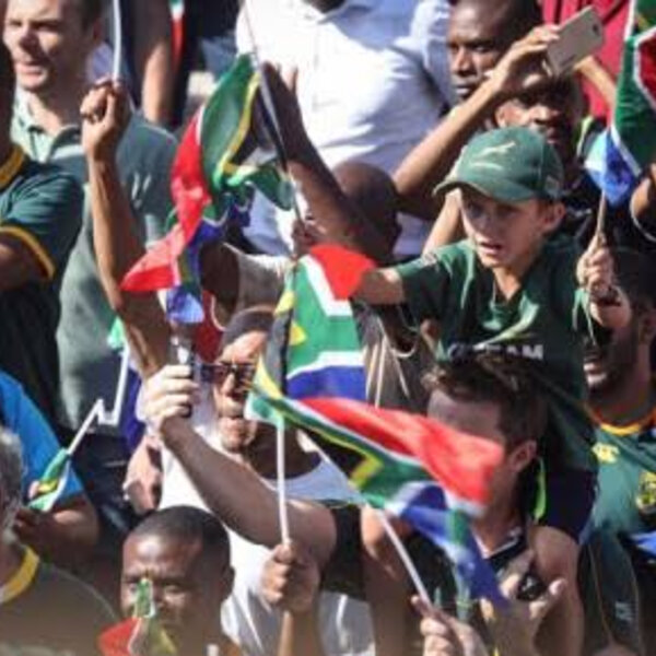Cape Town RWC trophy parade