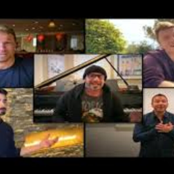 Barbs Wire - Backstreet Boys singing 'I want it that way' at different locations