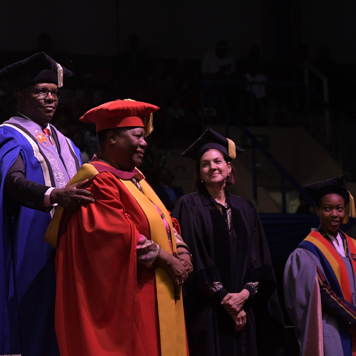 SA's Minister of Higher Education and Training graduates with PDH