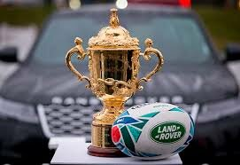 See rugby's Holy Grail - The Webb Ellis Trophy - up close