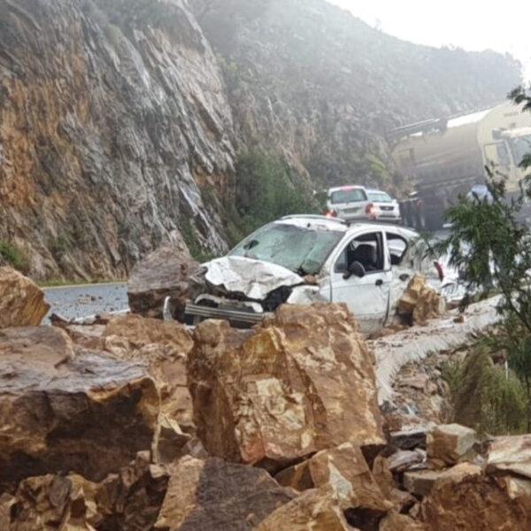 Franschhoek Pass rockfall survivor speaks