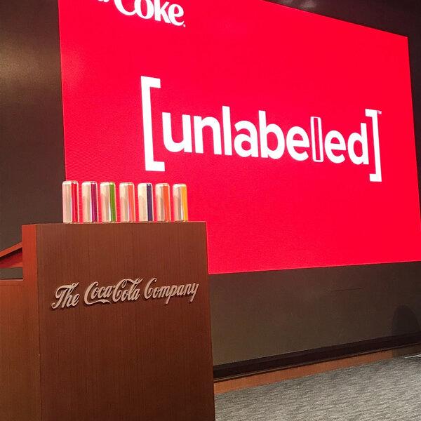 World of Advertising: Diet Coke 'Unlabelled'