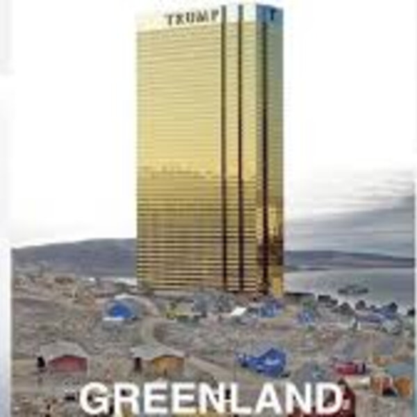 Barbs Wire - Donald Trump has poked fun at his own suggestion of buying Greenland from Denmark