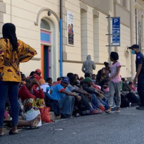 SAPS refugee operation