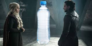 Barbs Wire - #GameOfThonesFinale plastic water bottles