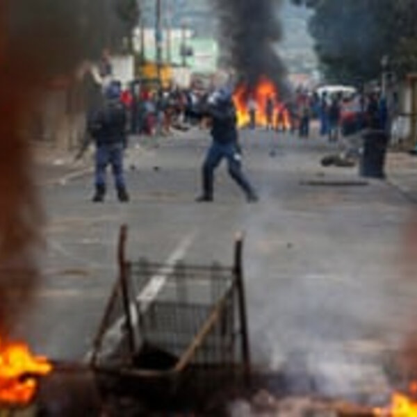 City on Fire: Day two of violent protests