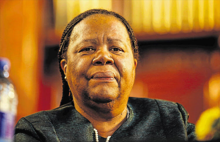 Pandor announces her department will settle Nsfas debt