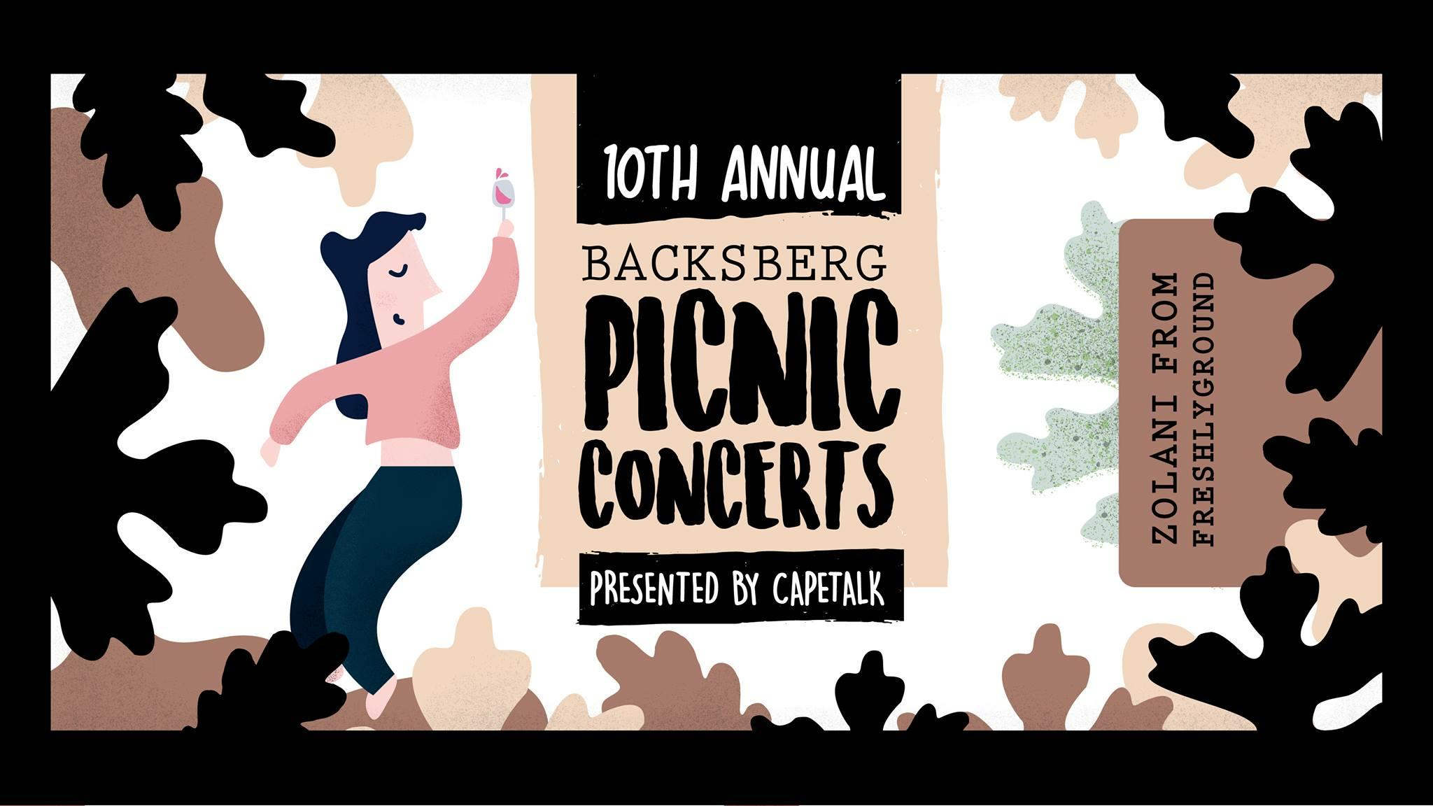 Backsberg Concerts - Zolani Mahola