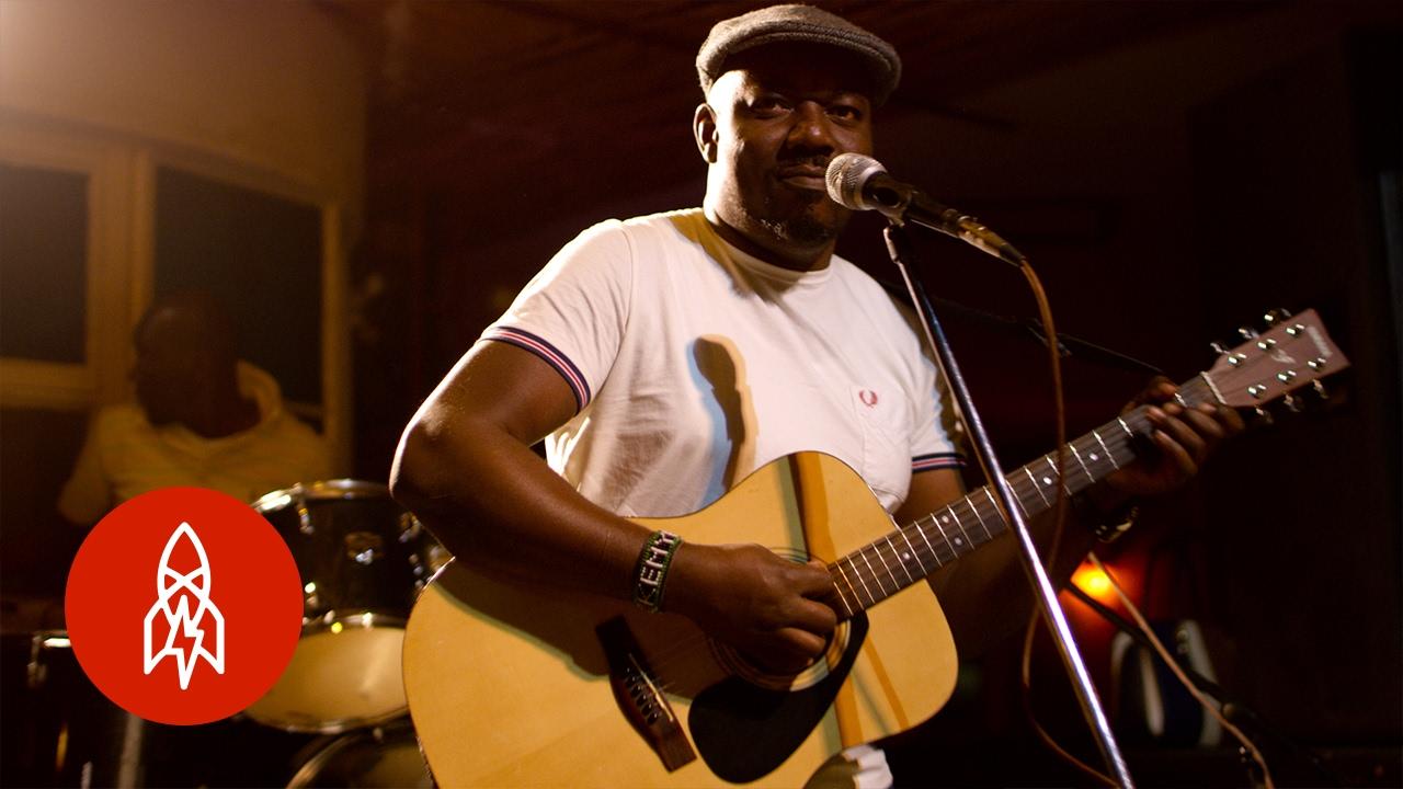 Elvis Otieno is the king of country music in Kenya