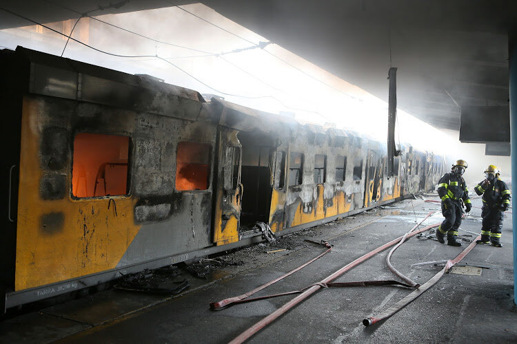 Train coaches worth R33m lost in Cape Town - how does this affect the system?