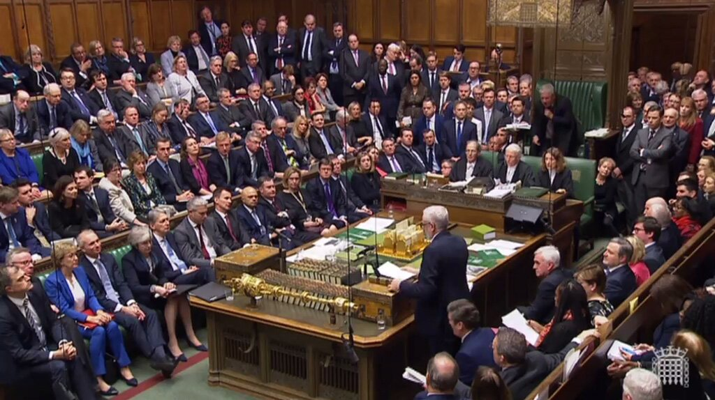 British MPs vote on Brexit