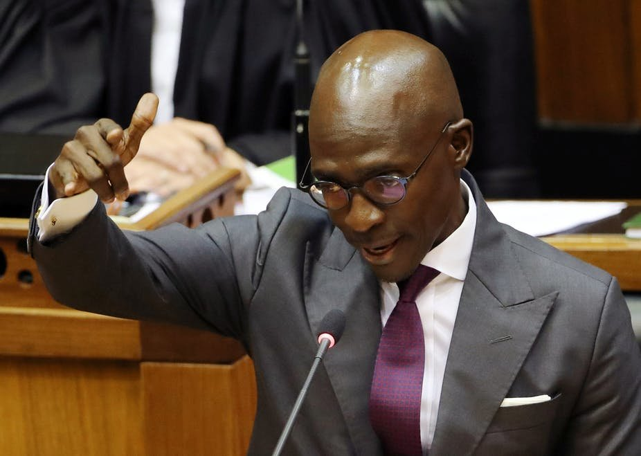 Malusi Gigaba must keep flexing his muscle