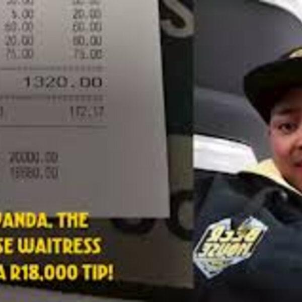 Barbs' Wire - Gauteng waitress gets R18,000 tip for 'amazing service'