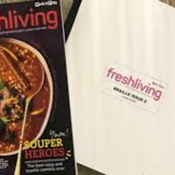Fresh Living magazine now available in Braille for PnP customers