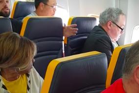 Elderly woman racially attacked on flight