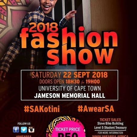 UCT Students help showcase local fashion