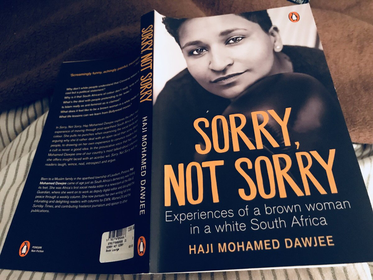 Sorry, Not Sorry by Dawjee, Haji Mohamed