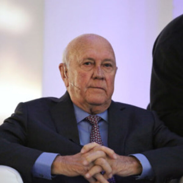FW de Klerk Foundation apologises to SA