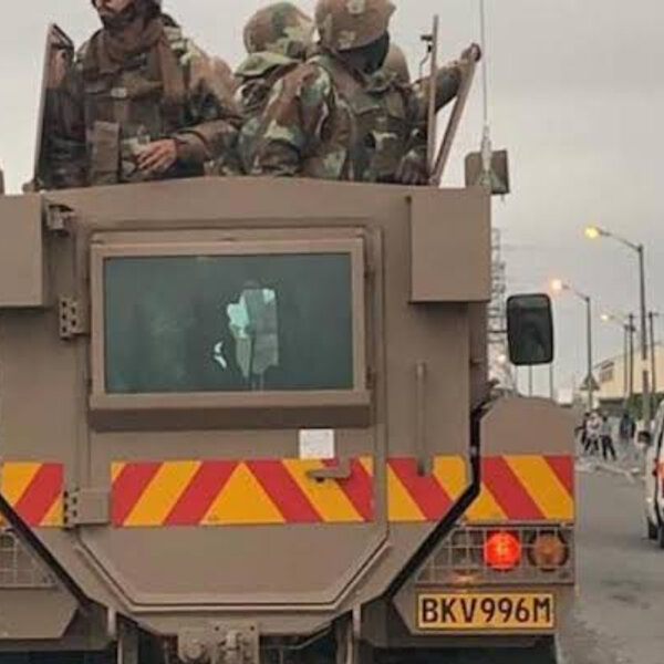 SANDF stays on Cape Flats until March 2020