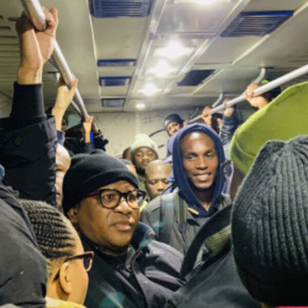 Transport Minister Fikile Mbalula's CT train ride not on track