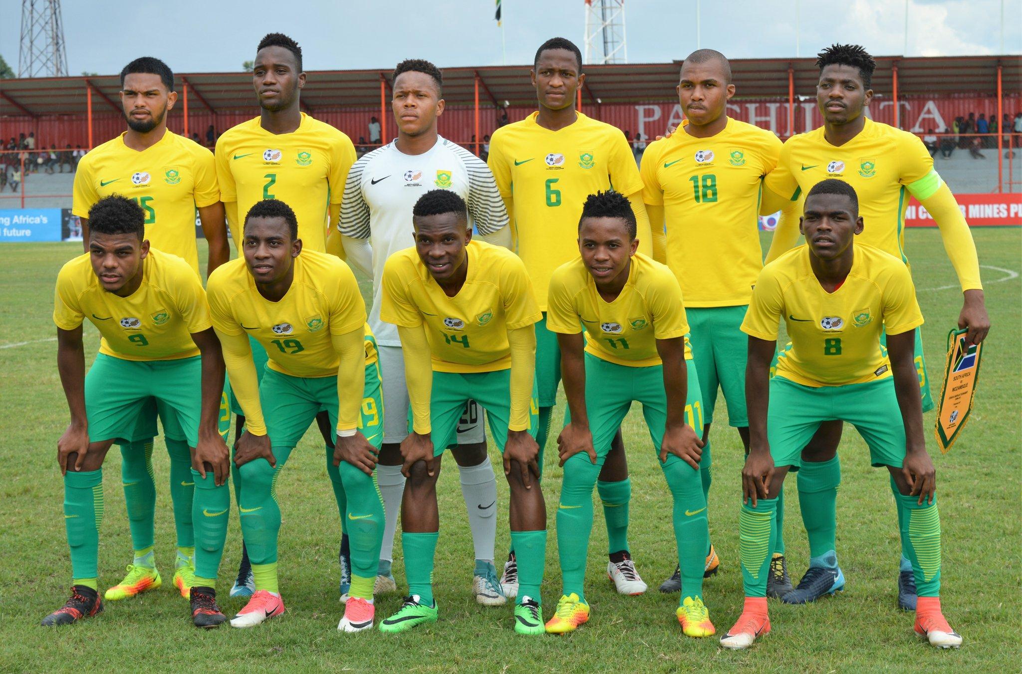The Amajita's-Junior Bafana Bafana and Caster Semenya