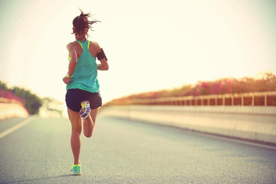 Our bodies are designed for running