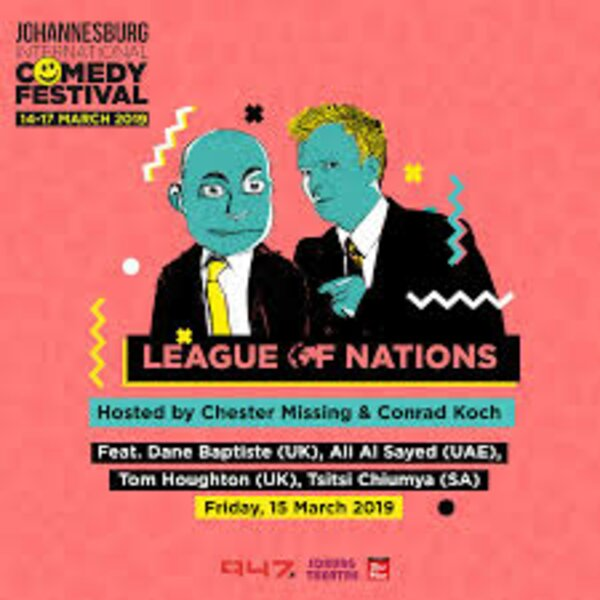 Lusky and Hulisani interview Ali Al Sayed ahead of Joburg International Comedy Festival
