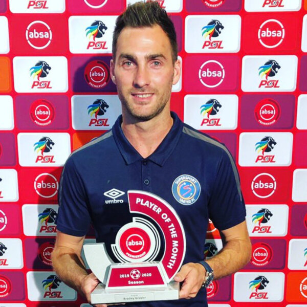 What's Bradley Grobler's goal for the AbsaPrem 2019/20 season?