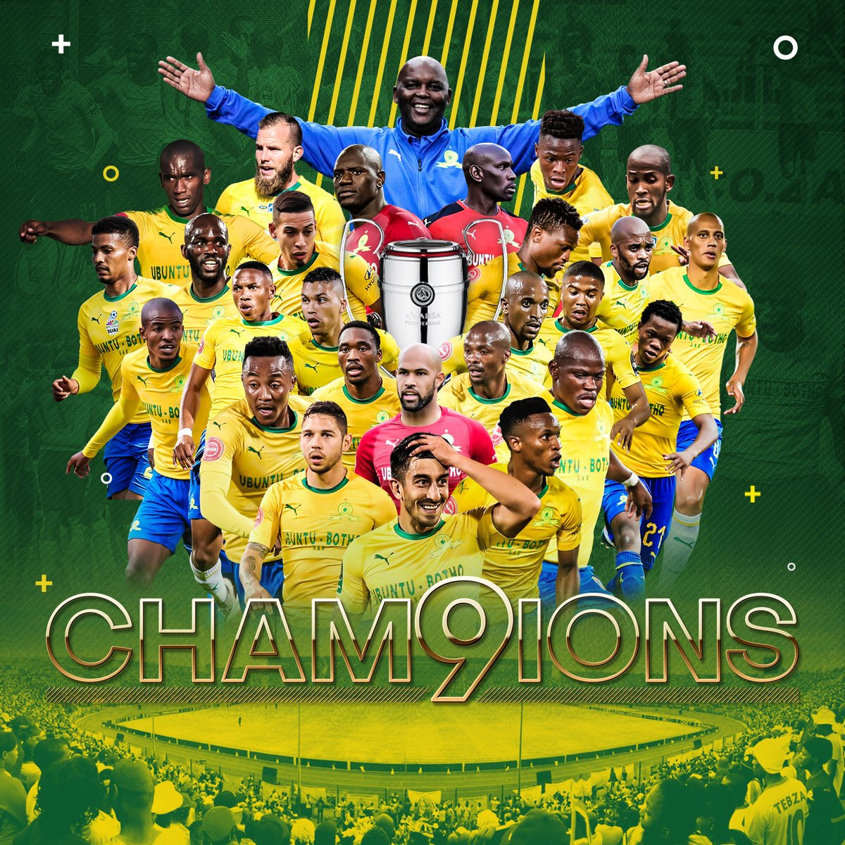 Sundowns Celebrate 9th Title