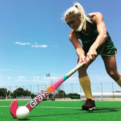 SA Women's hockey player