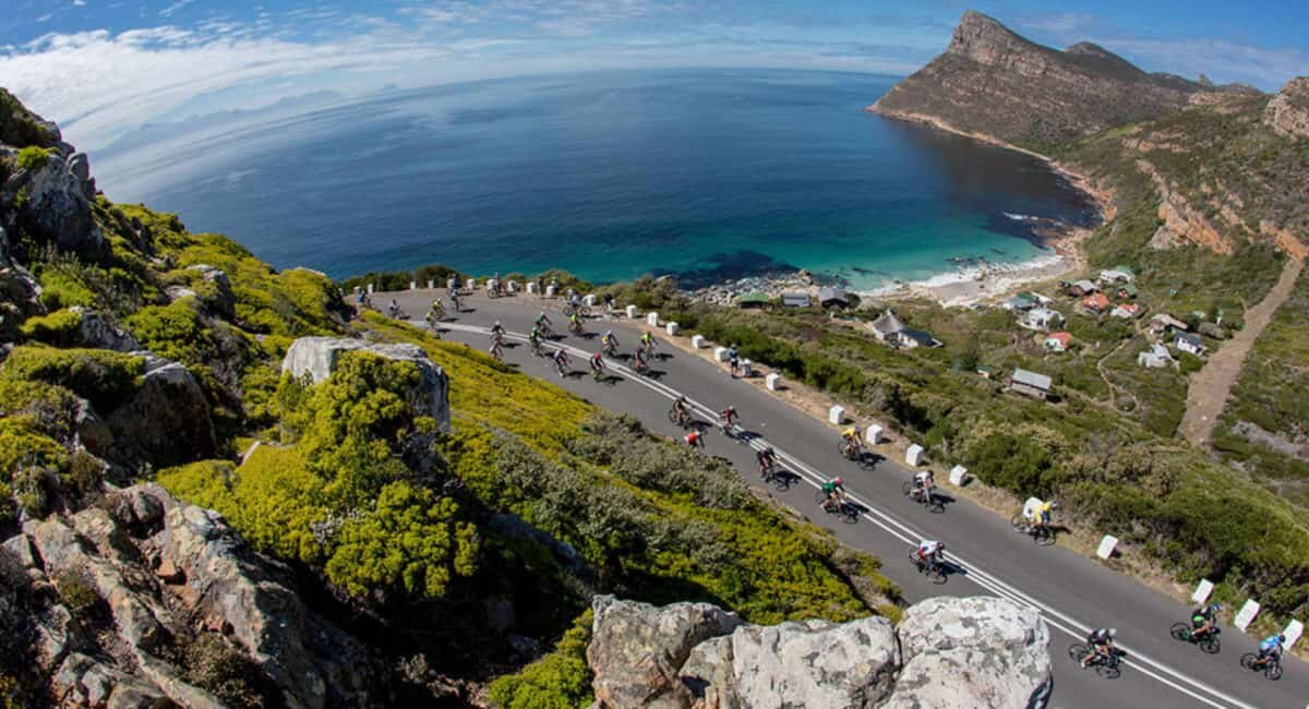 The 41st edition of the cape town cycle tour took place today