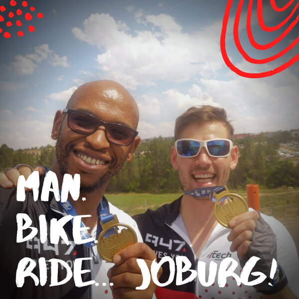 Man. Bike. Ride... Joburg: Raceday excitement!