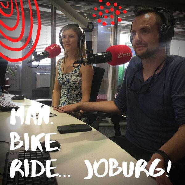 Man. Bike. Ride. Joburg... A raceday engagement!