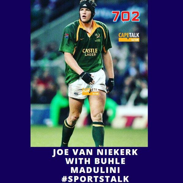 Former Bok player Joe van Niekerk goes green, literally