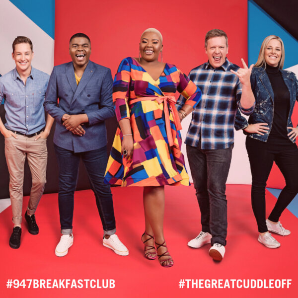 #TheGreatCuddleOff with the 947 Breakfast Club and Celeste Ntuli