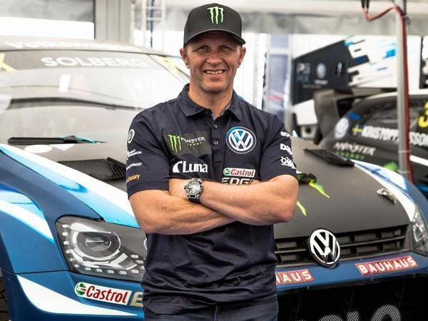 Petter Solberg joins #TheFlashDrive ahead of this weekend's #WorldRXSA 2018 FIA World RX championship