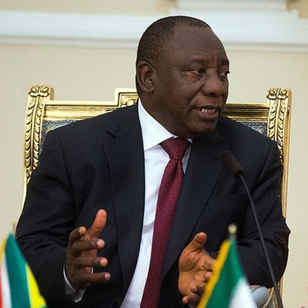 President addresses EFF disruptions at golf challenge