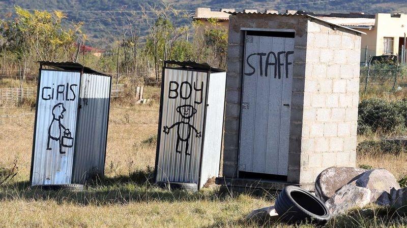 President Ramaphosa launches initiative to eradicate school pit toilets