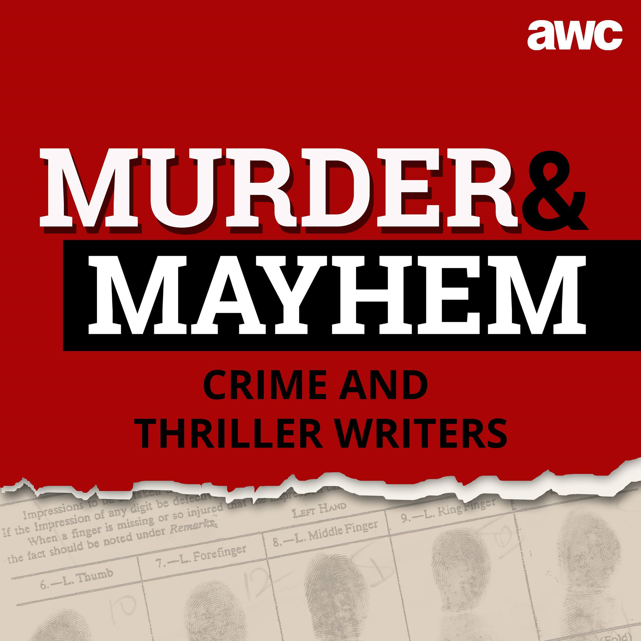 MURDER MAYHEM 26: Michael MacConnell is an author who is renowned for his thriller novels Splinter and Maelstrom.