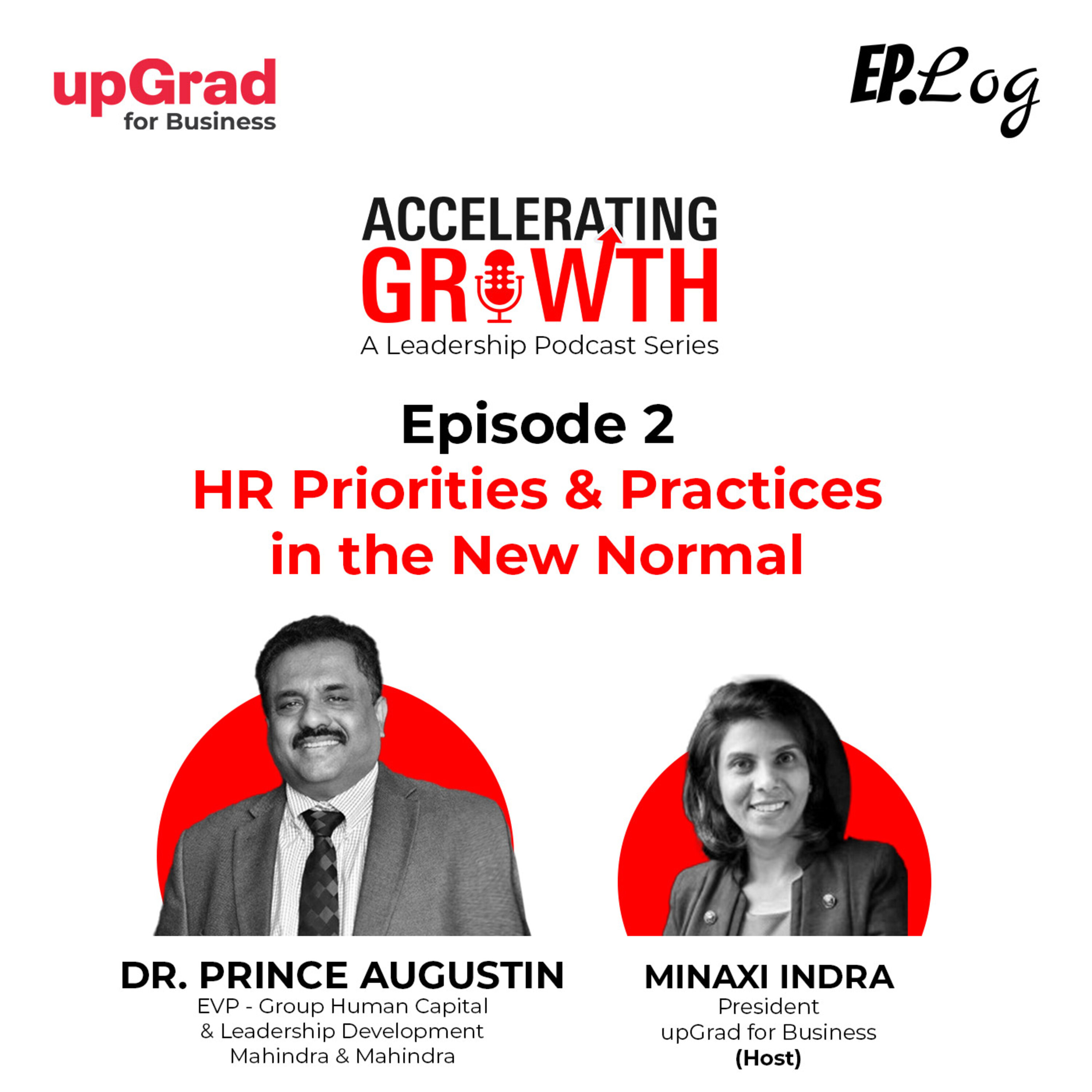 S1E2: HR Priorities and Practices in the New Normal