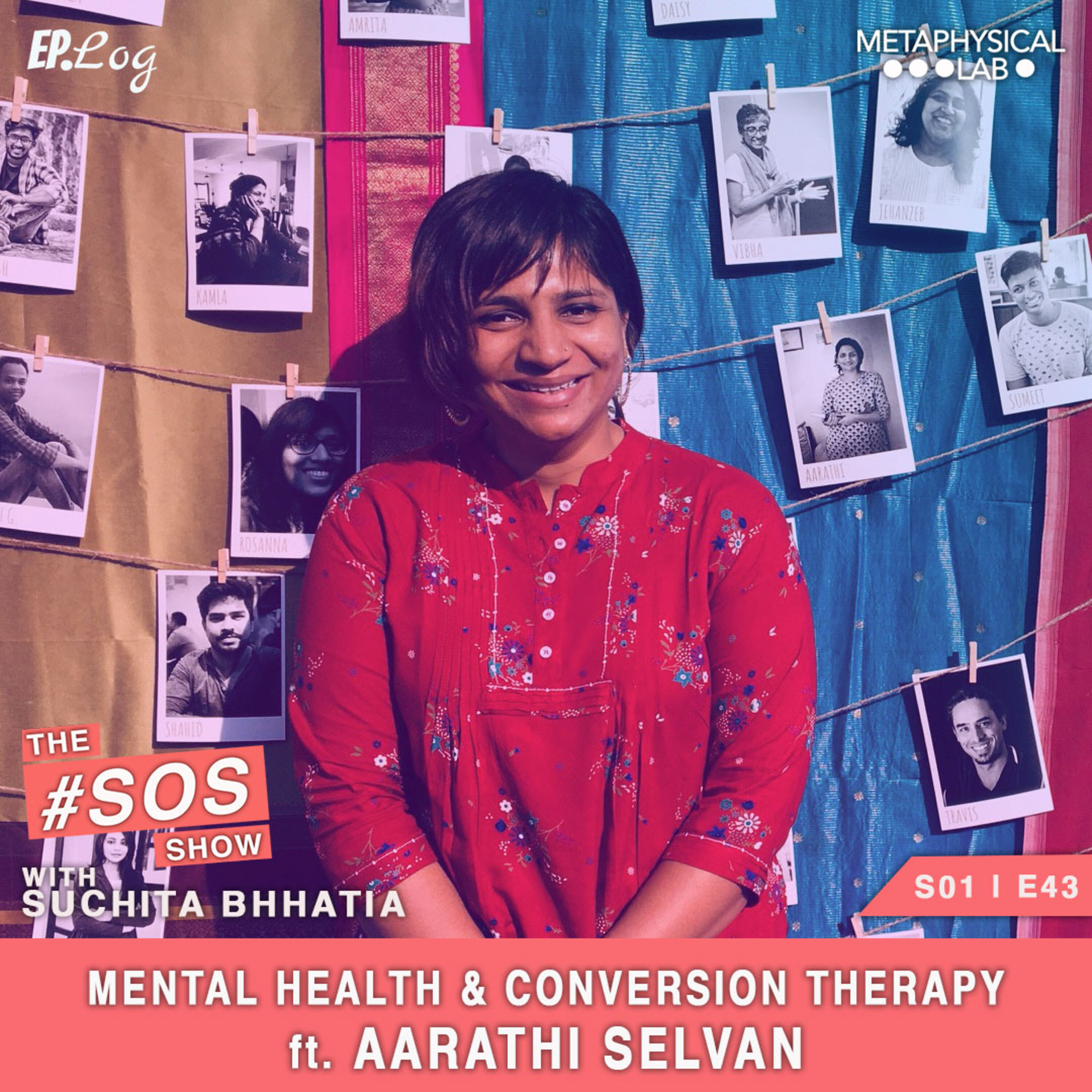 Ep.43 Mental Health & Conversion Therapy ft. Aarathi Selvan