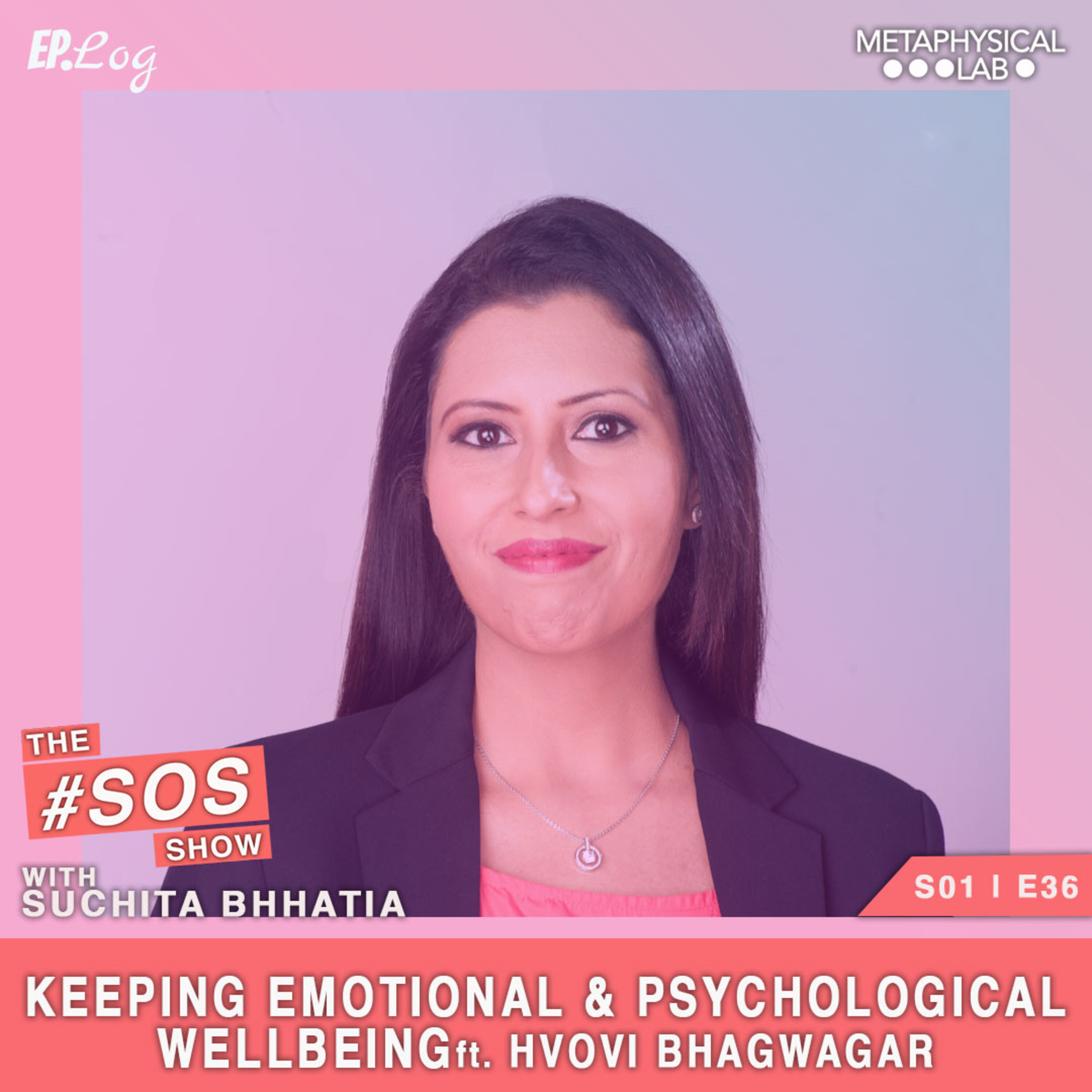 Ep.36 Keeping Emotional & Psychological Wellbeing ft. Dr. Hvovi Bhagwagar, Clinical Psychologist