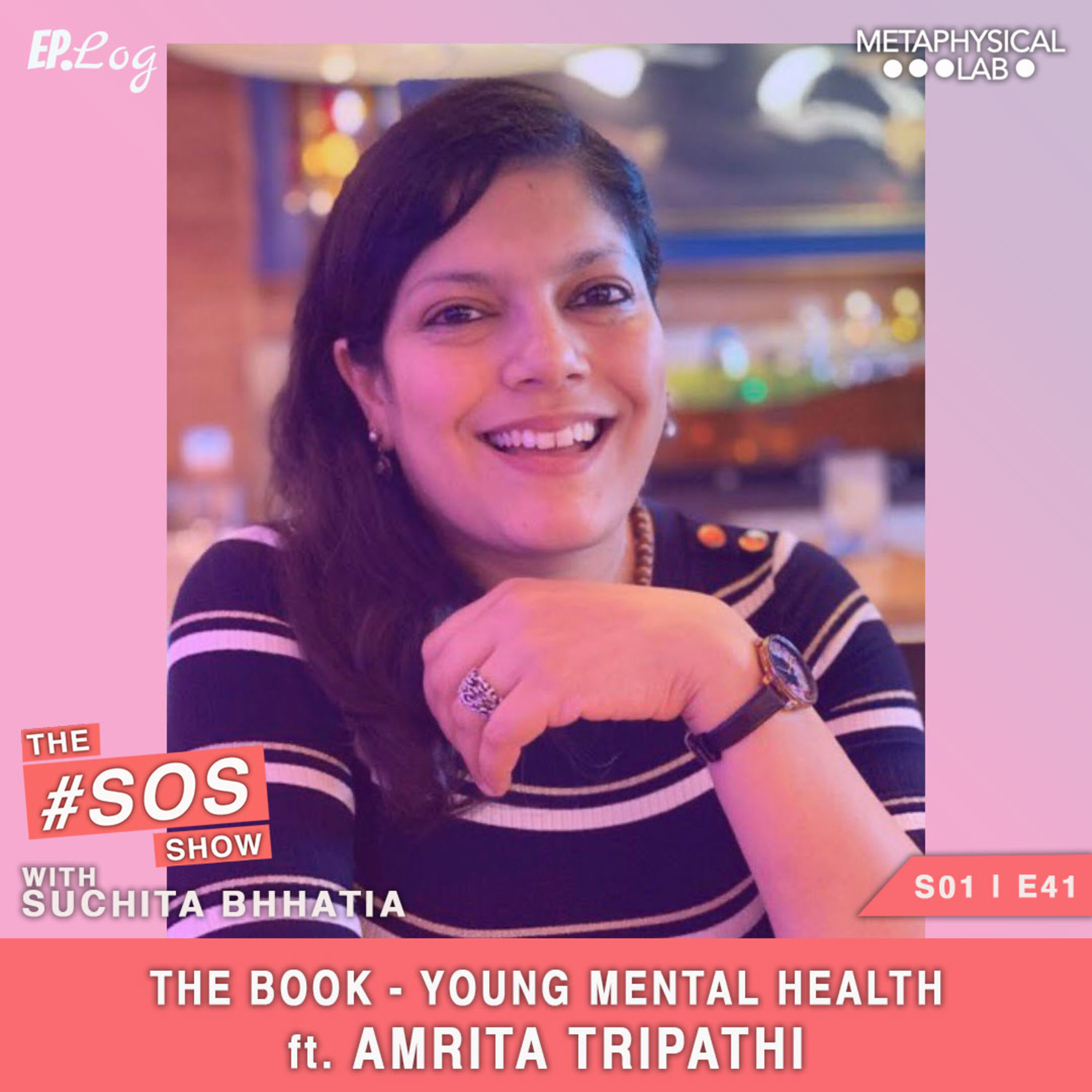 Ep.41 The Book - Young Mental Health ft. Amrita Tripathi, Founder - The Health Collective India