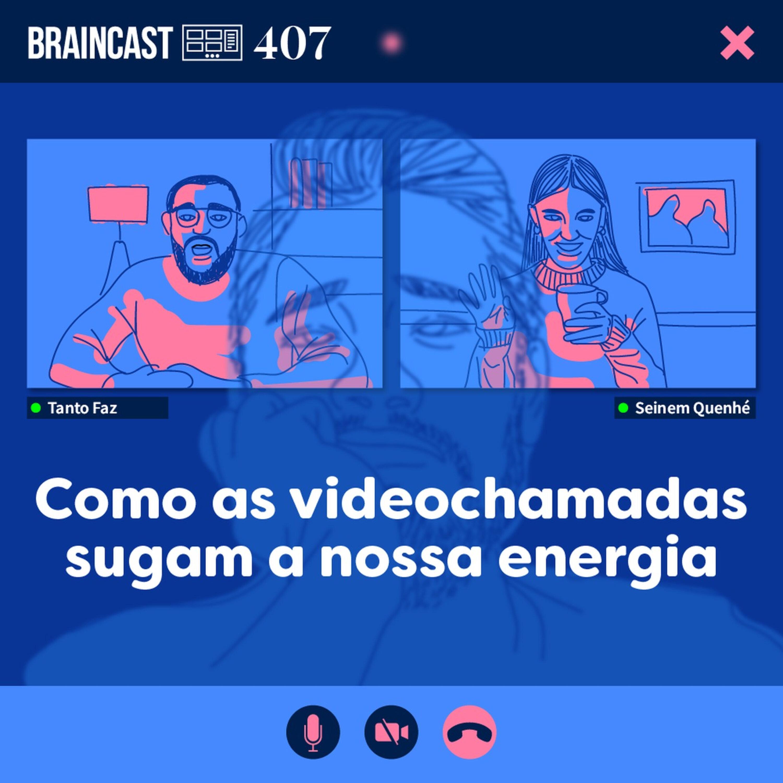 Como as videochamadas sugam a nossa energia